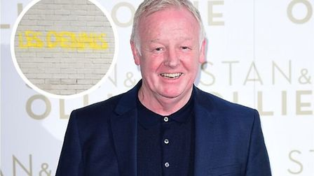 Les Dennis insists he didn't defy coronavirus lockdown to graffiti his name around Norwich Picture: