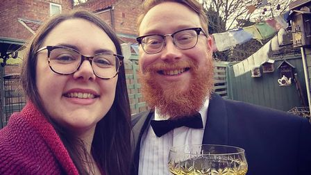 Alison Newbery and David Waterhouse celebrated their 'unwedding day' on April 16 - the same day they