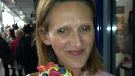 Samantha Dickinson is a trained patisserie chef and owns her own baking business Picture: Supplied b
