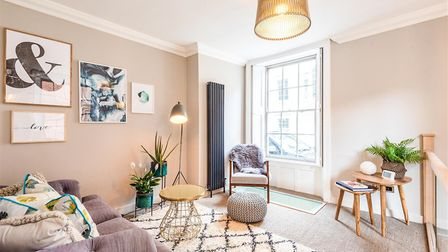 The gorgeous apartment in a historic building in King Street. Pic: DPS lettings