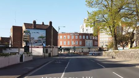 A 4K film has been made capturing the empty streets of Norwich during the coronavirus lockdown. Pict