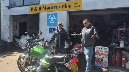 P&H Motorcycles is facing having to move after more than 35 years. Pic: P&H Motorcycles.