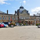 A planning application to renovate the clock inside Norwich railway station and install six new digi