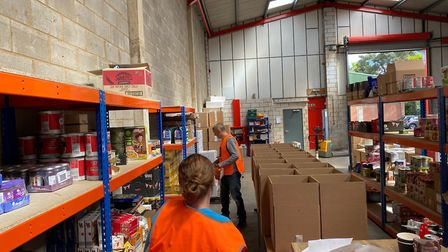 SOUL Foundation plans to deliver 30,000 meals a week to the most vulnerable people. Picture: SOUL Fo