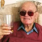 Kenneth Booth who was an RAF reconnaissance pilot during the Second World War. He turns 100 on May 6