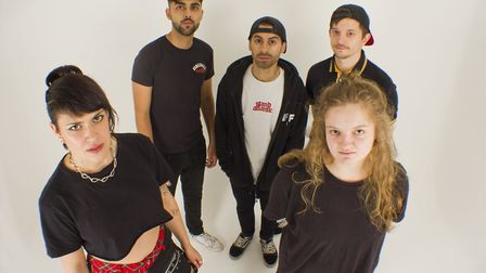 Millie Manders and the Shutup have released Silent Scream, a track about mental health. Picture: Zö