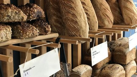 The wide variety of breads on offer at Bread Source. Picture: Ella Wilkinson