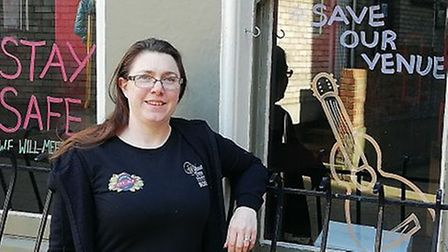 Claire Brooks, who runs the Walnut Tree Shades with husband Dale, has launched a Crowdfunder campaig