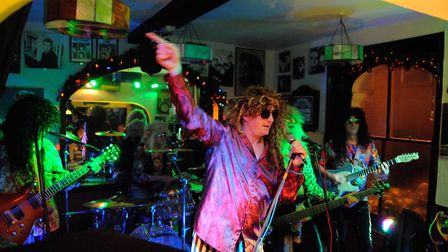 The Glamtastics perform at the Walnut Tree Shades Picture: Supplied