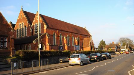 St Thomas Church on Earlham Road will hang a 40m long bunting for VE day. Picture: DENISE BRADLEY