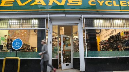 Evans Cycles in Norwich. Pic: Archant