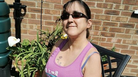 Zoe Smith, who works as a health care assistant at the Norfolk and Norwich hospital was left gutted