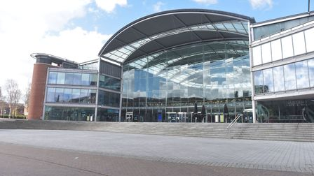 The Forum, in Norwich's city centre, is home to one of the busiest libraries in the country. Pictur