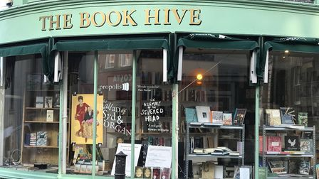 Peggy Hughes recommends Norwich book shop, Bookhive. Pic: Ella Wilkinson, Archant.