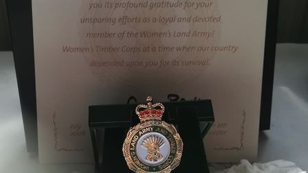 Nick Bennett, from Wymondham has paid tribute to his mum and dad Howard and Gwenfyl Bennett's war ti