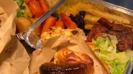 Enjoy a Sunday roast from Gonzo's Tea Room at home Picture: Gonzo's Tea Room