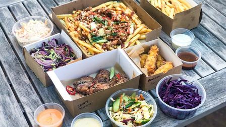 The Street Box has launched in Norwich, delivering loaded fries, chicken thighs and sides Picture: I