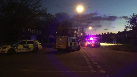 A man in his 30s was left with serious stomach injuries after being stabbed in Mile Cross. Picture: