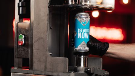 You can order for collection or delivery of draught beer through the BrewDog Now website or app Pict
