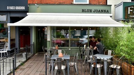 The Blue Joanna bar in Unthank Road. Pic: Archant