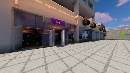A group of UEA students are creating the campus on Minecraft. Picture: Rebecca Bystry