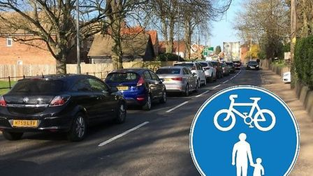 The new transport strategy for Diss aims to reduce congestion botttlenecks and encourage more walkin