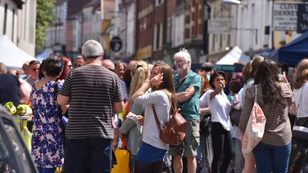 Eateries along the street have backed the pedestrianisation plan. Picture: Jamie Honeywood