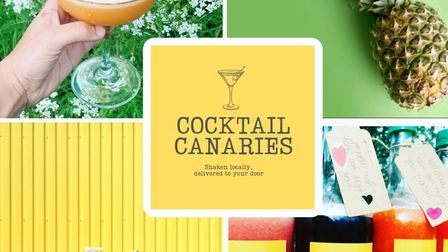 New business Cocktail Canaries delivers your favourite drinks to your door Picture: Cocktail Canarie