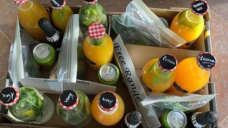 You can get cocktails delivered to your door during coronavirus lockdown Picture: The Globe Trotter