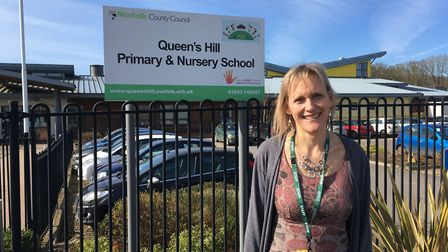 Penny Sheppard, headteacher of Queen's Hills Primary School and Nursery. Picture: SOPHIE WYLLIE