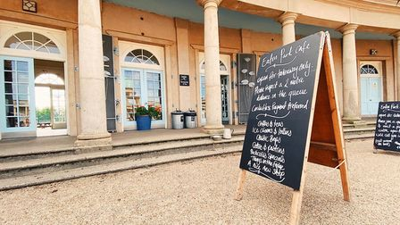 The Eaton Park Cafe has reopened for takeaways following the latest goverment guidance Picture: Jame