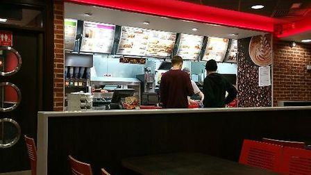 Burger King in Norwich. Pic: Burger King