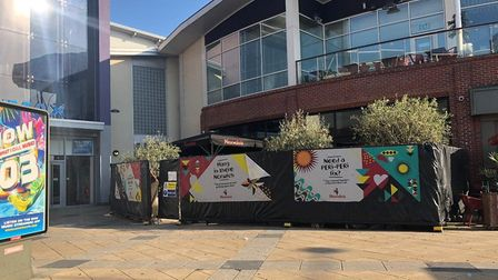 Nando's in Norwich's Riverside is open for deliveries. Pic: Archant
