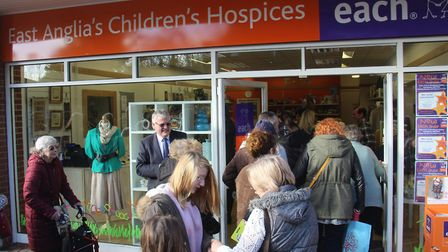 East Anglias Childrens Hospices shop at Bowthorpe Main Centre in Norwich.Photo: supplied by East Ang