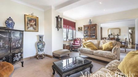 The flat for sale in Dencora House. Pic: Minors & Brady