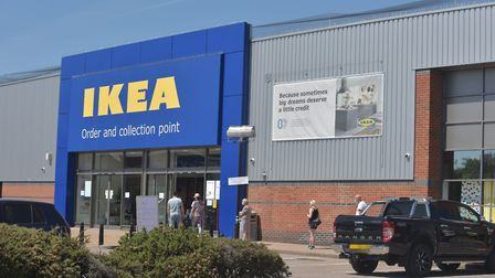 Ikea Norwich store re opening after COVID19 lockdown. Pictures: BRITTANY WOODMAN