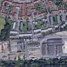 About 150 council homes could be built at the former Mile Cross depot site. Picture: Google
