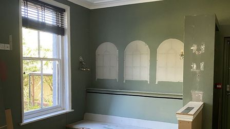 The refurbishment is underway at The Earlham Picture: Rose Hanison