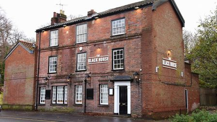 The Black Horse pub in Earlham Road, Norwich, where the street food fair will take place Picture: De