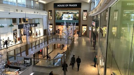 Schuh in Norwich's Chapelfield shopping centre (pictured_ will reopen on June 15. Pic: Archant