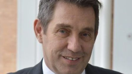 Chris Cobb, chief operating officer at the Norfolk & Norwich University Hospital. Pic: Archant