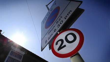 An experimental 20mph limit in part of Norwich has been made permanent. PHOTO: ANTONY KELLY.