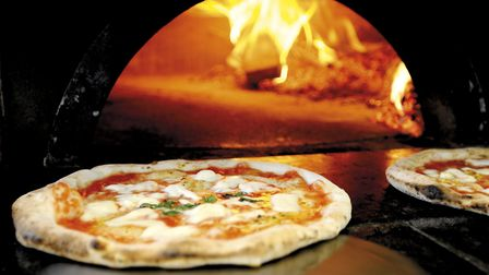 There will be wood-fired pizzas available using products from the garden. Picture: Getty Images/iSto
