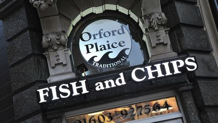 Orford Plaice fish and chip shop in Norwich Picture: Simon Finlay