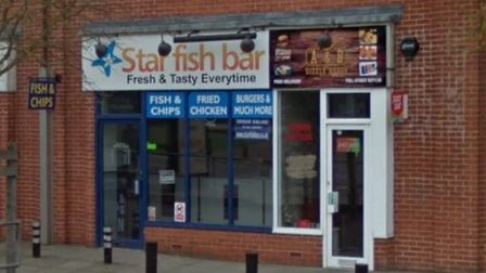 The Star Fish bar in Aylsham Road is doing deliveries Picture: Google Maps
