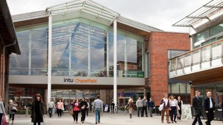 Intu, which owns Chapelfield - pictured before lockdown - has put KPMG on standby. Pic: Archant