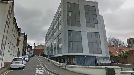 Vantage House, in Fishers Lane Norwich. An application to convert the building into 44 apartments ha
