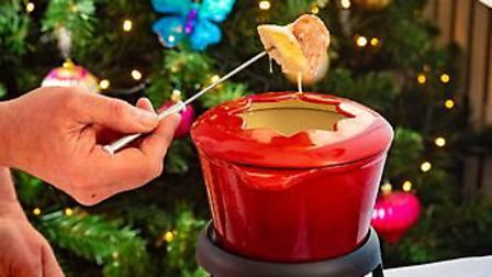 The cheese fondue which is part of the Apres-Ski menu Picture: The Assembly House