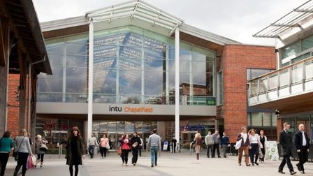 Owners of Chapelfield shopping centre, Intu, have warned it could close. Pic: Archant