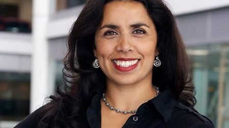 Nina Nannar, arts editor for ITV News, has been appointed as new patron of Norwich Film Festival Pic